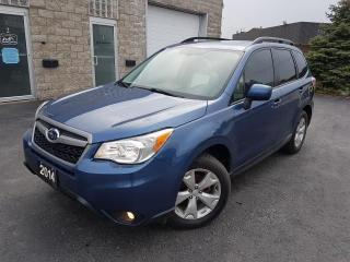 Used 2014 Subaru Forester 2,5i-TOURING-SUNROOF-CAMERA-AWD-CERTIFIED for sale in Oakville, ON