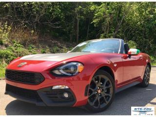 Used 2017 Fiat 124 Spider Abarth for sale in Ste-Foy, QC