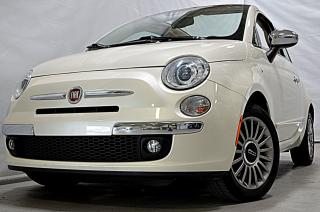 Used 2013 Fiat 500 LOUNGE Convertible for sale in Laval, QC