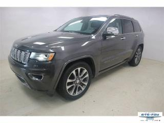 Used 2018 Jeep Grand Cherokee Overland *4X4 AWD V6 3.6L FULL ÉQUIPE* for sale in Ste-Foy, QC