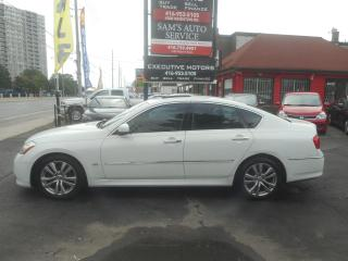 Used 2008 Infiniti M35 LUXURY / NAV/ REAR CAM/ BLUETOOTH/ ICE AC / for sale in Scarborough, ON