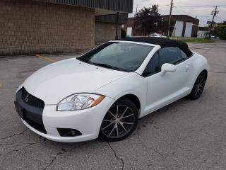 Used 2011 Mitsubishi Eclipse GS SPYDER CONVERTIBLE CERTIFIED for sale in Oakville, ON