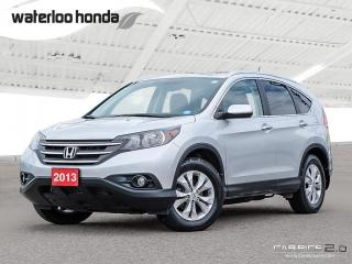 Used 2013 Honda CR-V Touring Sold Pending Customer Pick Up...Bluetooth, Back Up Camera, Navigation, and More! for sale in Waterloo, ON