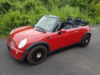 Used 2005 MINI Cooper CONVERTIBLE-LEATHER HEATED SEATS-CERTIFIED for sale in Oakville, ON
