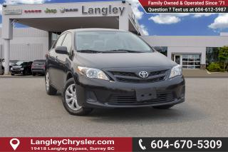 Used 2012 Toyota Corolla CE for sale in Surrey, BC