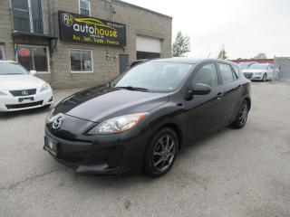 Used 2012 Mazda MAZDA3 ONE OWNER, NO ACCIDENT,  HATCHBACK, CERTIFIED, POWER WINDOWS, GX, SIRIUS XM for sale in Newmarket, ON