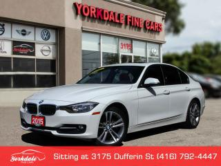Used 2015 BMW 320i xDrive Navigation, Red Interior, No Accidents for sale in Toronto, ON