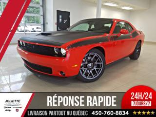 Used 2018 Dodge Challenger R/t édition T/a, 18 for sale in Joliette, QC