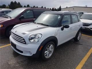 Used 2012 MINI Cooper Countryman SUNROOF/BLUETOOTH/PARK SENSORS/CERTIFIED for sale in Oakville, ON