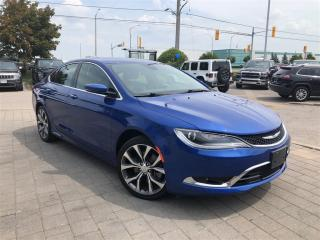 Used 2016 Chrysler 200 C**Panoramic Sunroof**Remote Start** for sale in Mississauga, ON