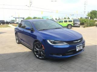 Used 2016 Chrysler 200 S**PANORAMIC SUNROOF**NAVIGATION** for sale in Mississauga, ON