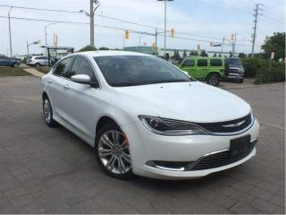 Used 2015 Chrysler 200 Limited**Heated Seats**Back UP Camera**V-6** for sale in Mississauga, ON