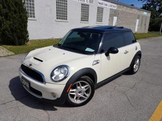 Used 2010 MINI Cooper S DUAL ROOF-LEATHER-BLUETOOTH-CERTIFIED for sale in Oakville, ON