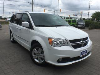 Used 2017 Dodge Grand Caravan CREW PLUS**POWER SLIDING DOORS**DVD** for sale in Mississauga, ON