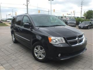 Used 2017 Dodge Grand Caravan Crew Plus**Leather**DVD**Power Doors** for sale in Mississauga, ON