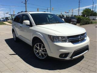 Used 2017 Dodge Journey GT**7 Passenger Seating**DVD**Leather** for sale in Mississauga, ON