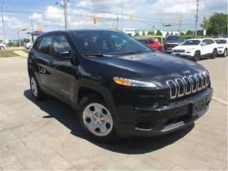 Used 2016 Jeep Cherokee Sport 4X4**Trailer TOW Group**Heated Seats** for sale in Mississauga, ON