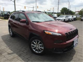 Used 2018 Jeep Cherokee North*Cold Weather*8.4 Touchscreen*4X4 for sale in Mississauga, ON