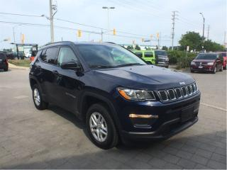 Used 2018 Jeep Compass Sport*4X4*Cold Weather GRP*SPT Appearance GRP* for sale in Mississauga, ON