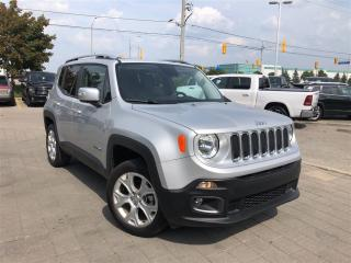 Used 2017 Jeep Renegade Limited**Sunroof**Leather**Navigation** for sale in Mississauga, ON