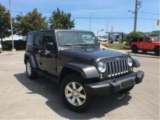 Used 2018 Jeep Wrangler Unlimited Sahara**Dual TOP Group**Navigation** for sale in Mississauga, ON
