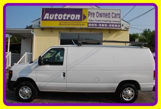 Used 2011 Ford E-150 1/2 Ton Econoline Cargo Van, A/C, Roof Rack for sale in Woodbridge, ON