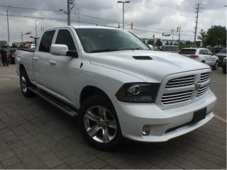 Used 2015 RAM 1500 Sport**Crew CAB**Leather**Sunroof** for sale in Mississauga, ON