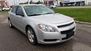 Used 2012 Chevrolet Malibu LS, Only 118 km, 4 cy Ecotec Engine for sale in Scarborough, ON