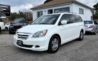 Used 2007 Honda Odyssey EX-L LEATHER SUNROOF NO ACCIDENT for sale in Mississauga, ON