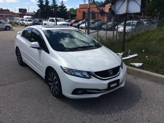 Used 2013 Honda Civic TOURING,NAV,B/U CAMERA,LEATHER,ONE OWNER,SAFETYED for sale in North York, ON