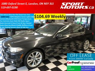 Used 2014 BMW 5 Series 535i xDrive+GPS+Xenons+360 Camera+New Tires++ for sale in London, ON