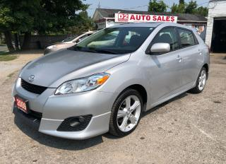 Used 2009 Toyota Matrix XR/Certified/Automatic/Sunroof/Gas Saver for sale in Scarborough, ON