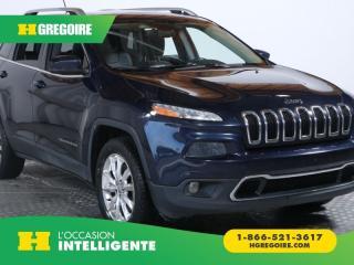 Used 2014 Jeep Cherokee LTD AWD TOIT CUIR for sale in St-Léonard, QC