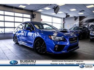 Used 2015 Subaru WRX Sport-Tech Pkg for sale in Ste-Julie, QC