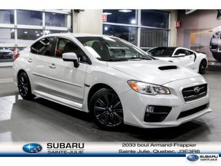 Used 2015 Subaru WRX for sale in Ste-Julie, QC