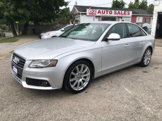 Used 2009 Audi A4 Certified/Quattro/Leather/Roof/Accident Free for sale in Scarborough, ON