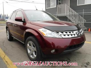 Used 2005 Nissan MURANO SL 4D UTILITY AWD for sale in Calgary, AB