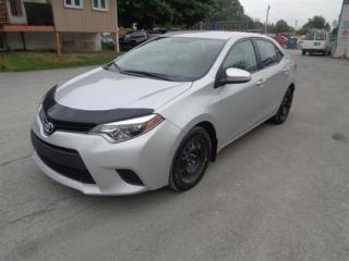 Used 2014 Toyota Corolla 4DR SDN for sale in Montreal, QC