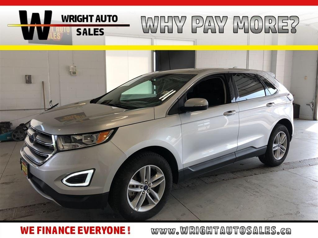 Used 2017 Ford Edge Sel Low Mileage Backup Camera Awd 44297 Kms For