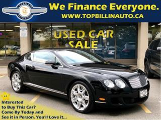 Used 2009 Bentley Continental GT Black on Black for sale in Vaughan, ON