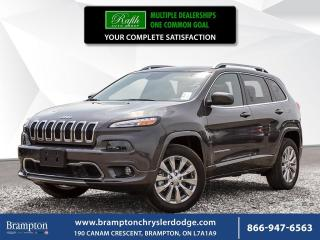 Used 2018 Jeep Cherokee OVERLAND | EX CHRYSLER COMPANY DEMO | for sale in Brampton, ON