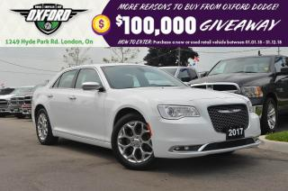 Used 2017 Chrysler 300 C - AWD, Sunroof, Bluetooth, Leather, Pwr Seats for sale in London, ON