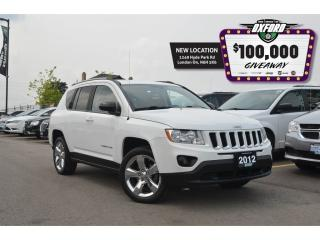 Used 2012 Jeep Compass Limited - Sunroof, Bluetooth, Remote Start for sale in London, ON