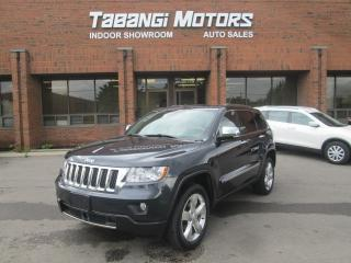 Used 2013 Jeep Grand Cherokee OVERLAND | NO ACCIDENTS | NAVIGATION | LEATHER | SUNROOF | for sale in Mississauga, ON