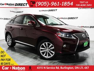 Used 2015 Lexus RX 350 Sportdesign| AWD| SUNROOF| NAVI| for sale in Burlington, ON
