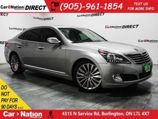 Used 2014 Hyundai Equus Ultimate| DUAL DVD| SUNROOF| NAVI| for sale in Burlington, ON