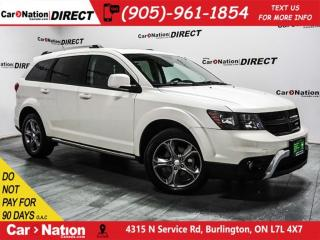 Used 2017 Dodge Journey Crossroad| AWD| 7-PASSENGER| DVD| NAVI| SUNROOF| for sale in Burlington, ON