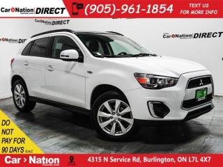 Used 2015 Mitsubishi RVR GT| AWD| PANO ROOF| BACK UP CAMERA| for sale in Burlington, ON