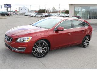 Used 2015 Volvo V60 T6 R-Design for sale in St-Eustache, QC