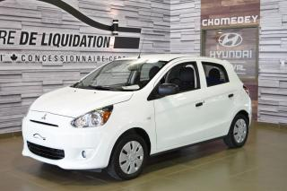 Used 2014 Mitsubishi Mirage ES GR,ELECT+A/C for sale in Laval, QC